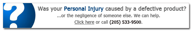 Injured in a car wreck? Call Doyle Law at (205) 533-9500 - Alabama personal lawyers.